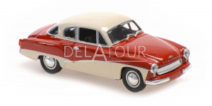 Wartburg A311 Coupe 1958 Red & White