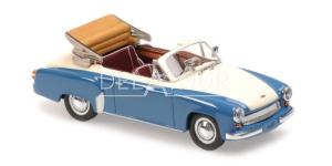 Wartburg A311 Cabriolet 1958 Grey/White