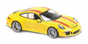 Porsche 911 R 2016 Yellow /red stripes