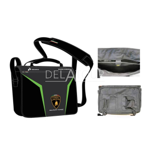 Lamborghini Shoulder Bag Black