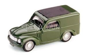 Fiat 500C Van 1951 Green