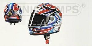 T. Bayliss Helmet MotoGP 2001