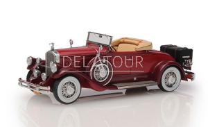 Pierce Arrow Model B Roadster 1930 2 Tone Red