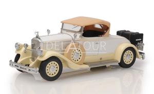 Pierce Arrow Model B Roadster Closed 1930 Beige