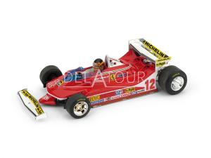 Ferrari 312T4 #12 G. Villeneuve USA GP 1979