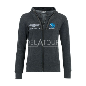 Aston Martin Ladies Classic Hoody Full Zip