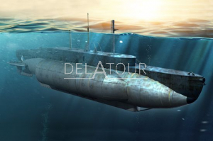 British HMS X-Craft Submarine