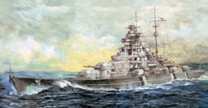 German Bismarck Battleship 1941