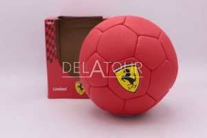 Scuderia Ferrari Scudetto Football Red Size 3