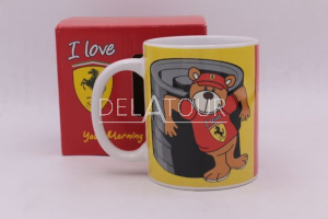 Scuderia I Love Ferrari Mug Red /Yellow