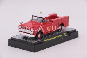 Chevrolet Apache Brush Truck 1958 Red