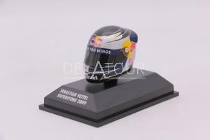 F1 Sebastien Vettel Helmet Silverstone GP 2009