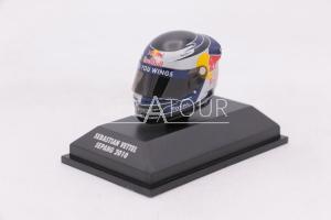 F1 Sebastien Vettel Helmet Sepang GP 2010