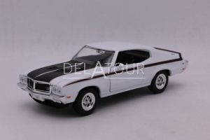 Buick GSX 1970 White / Black Stripes