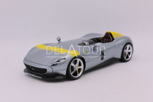 Ferrari Monza SP1 in Grey and Yellow