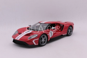 Ford GT #1 2018 Red / White Stripe
