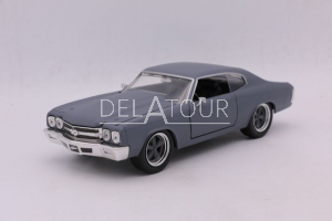 Doms Chevy Chevelle SS Fast & Furious Grey