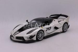 Ferrari FXX K #70 White /Black