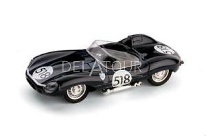Jaguar D-Type #518 Mille Miglia 1957
