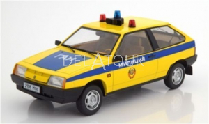 Lada Samara Police Russia 1984 Yellow&Blue