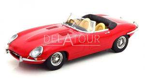 Jaguar E-Type Cabrio Open Series 1 1961 LHD Red