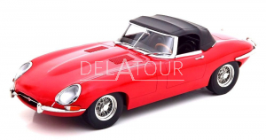 Jaguar E-Type Cabrio SoftTop Series 1 1961 LHD Red