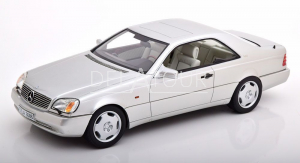 Mercedes-Benz S-Class 600SEC Coupe 1992 Silver