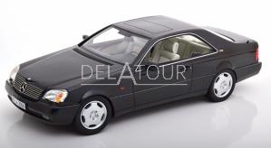 Mercedes-Benz S-Class 600SEC Coupe 1992 Black
