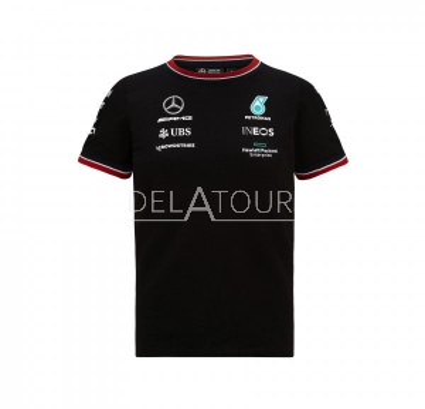 Mercedes GP Team Mens Driver T-shirt Black