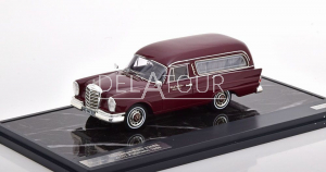 Mercedes-Benz 220SE W111 Polmann Funeral 1966 Red