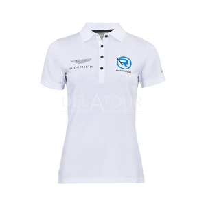 Aston Martin Ladies Polo Shirt White