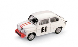 Fiat 600 Abarth #160 P. Falorni 1962