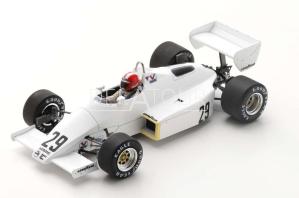 Arrows A6 #29 M. Surer Brazil GP 1983