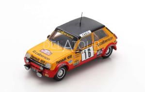 Renault R5 Alpine #16 Rally MonteCarlo 1979