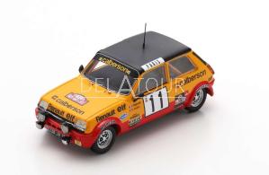 Renault R5 Alpine #11 Rally Montecarlo 1979