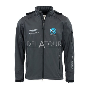 Aston Martin Men Softshell Jacket Grey