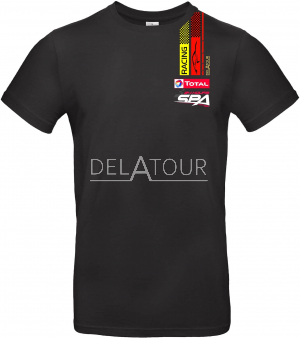 24 H T-Shirt Kids, Black