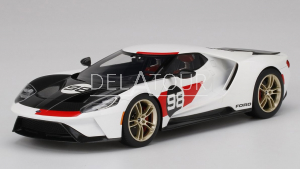 Ford GT Heritage Edition #98 2021 White