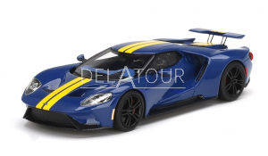 Ford GT Sunoco Blue with Yellow Stripes