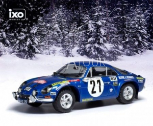 Renault Alpine A110 #21 Rally Monte Carlo 1973