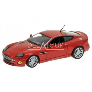 Aston Martin Vanquish S 2004 Red Metallic Top Gear