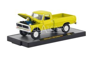 Ford F-100 Custom 4*4 1970 Yellow