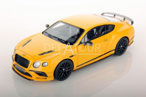 Bentley Continental Supersports 2017 Yellow