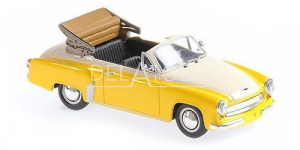 Wartburg A311 Cabriolet 1958 Yellow/White