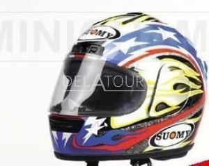 B. Bostrom Helmet MotoGP 2001
