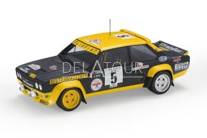 Fiat 131 Abarth #5 Rally Tour De Corse 1977