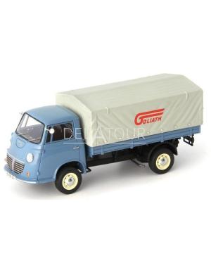 Goliath Express 1100 FlatBed Truck 1957 Blue
