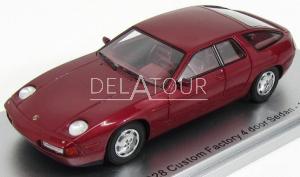 Porsche 928 Custom Factory 4-Door Sedan 1986 Red