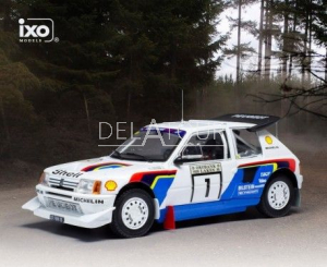 Peugeot 205 T16 #1 Rally 1000 Lakes 1986