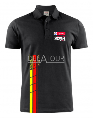 24H Men Polo, Black